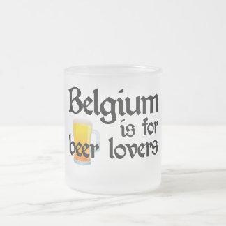 Belgium is for Beer Lovers Coffee Mugs