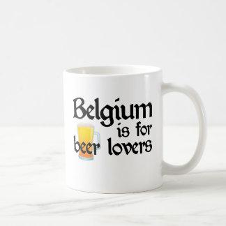 Belgium is for Beer Lovers Mug