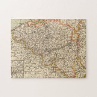 Belgium, Luxemburg Jigsaw Puzzle