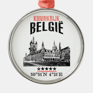 Belgium Metal Ornament