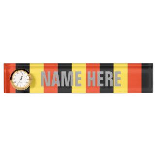 Belgium Name Plates