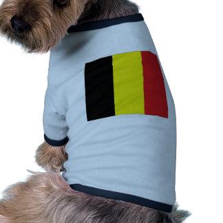 Belgium National Flag Pet Tee