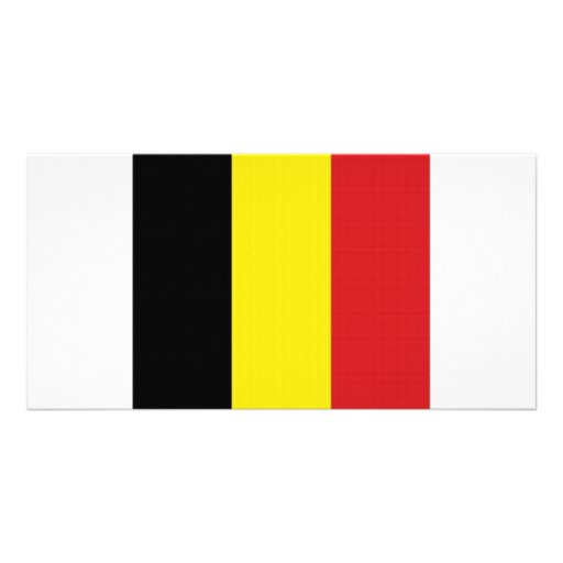 Belgium National Flag Picture Card