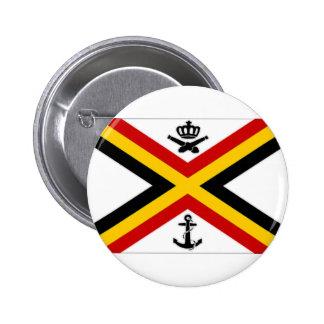 Belgium Naval Ensign Flag Buttons