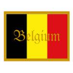 Belgium postcard