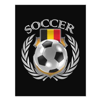 Belgium Soccer 2016 Fan Gear 21.5 Cm X 28 Cm Flyer