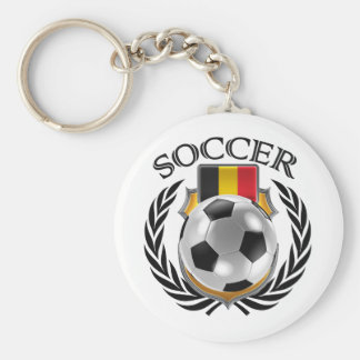 Belgium Soccer 2016 Fan Gear Basic Round Button Key Ring