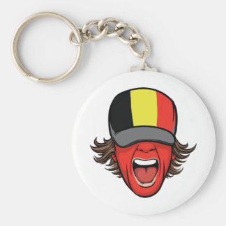 Belgium Sports Fan Keychains