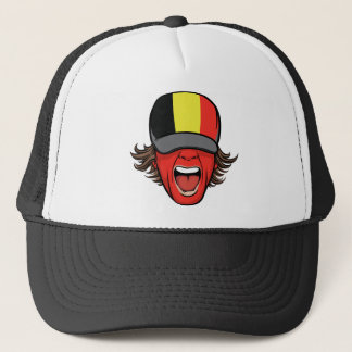 Belgium Sports Fan Trucker Hat