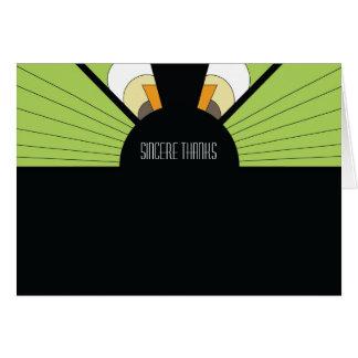 Belgium Thank You Card: Lime Card