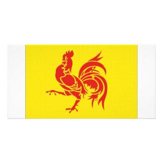 Belgium Walloon Region Flag Photo Cards