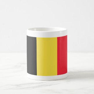 Belgium World Flag Basic White Mug