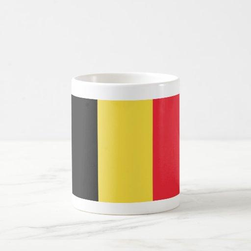 Belgium World Flag Coffee Mugs