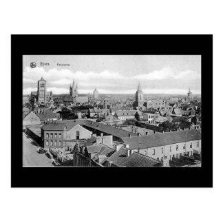 Belgium, Ypres - Old Postcard