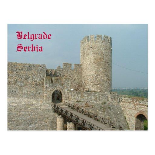 Belgrade Castle Postcard