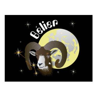 Bélier 21 Mars outer 20 avril Cartes of pos valley Postcard