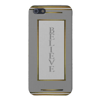 Believe 1 iPhone 5 cover
