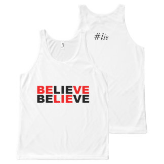 believe All-Over print tank top