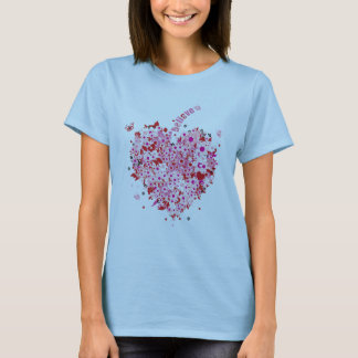 Believe and Live Heart T-Shirt