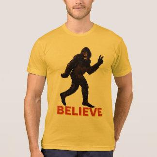 Believe Bigfoot Sasquatch Yeti T-Shirt