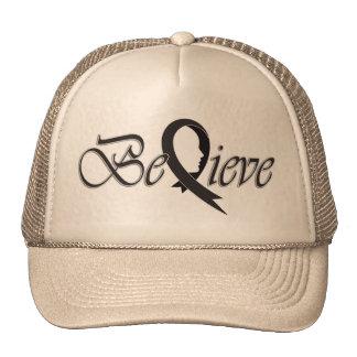 Believe (Black Ribbon-Trucker) Cap