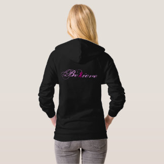 Believe Breast Cancer Awareness Hoodie