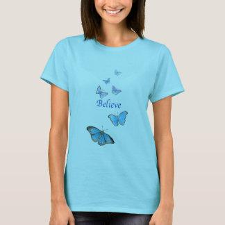 Believe butterflies t-shirt