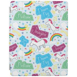 Believe, Dream Big, Imagine Unicorn iPad Cover