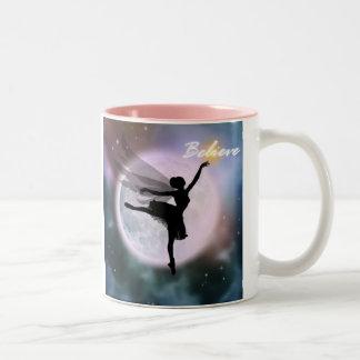 Believe fairy dance mug