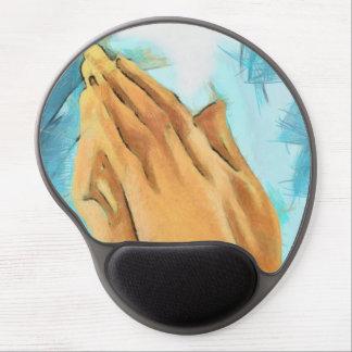 Believe Faith Hope Love Pray Pattern Peace Joy Art Gel Mouse Pads