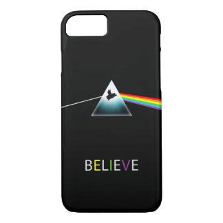 Believe-Flying Pig in Prism iPhone 8/7 Case