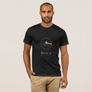 BELIEVE-flying pig in prism T-Shirt