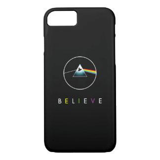 Believe-Flying pig/prism iPhone 8/7 Case