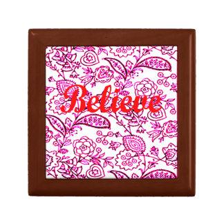 Believe Gift Box