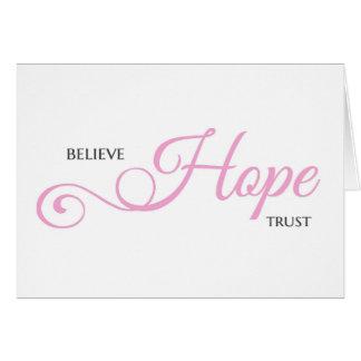 Believe HOPE Trust Card