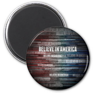 Believe In America Refrigerator Magnets