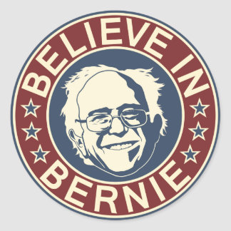 Believe in Bernie Sticker (V1)