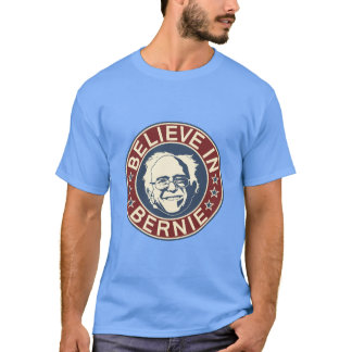 Believe in Bernie T-Shirt (Blue)