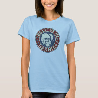 Believe in Bernie T-Shirt (Light Blue)