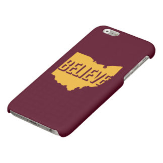 Believe in Cleveland iPhone 6/6s Case Gold/Maroon