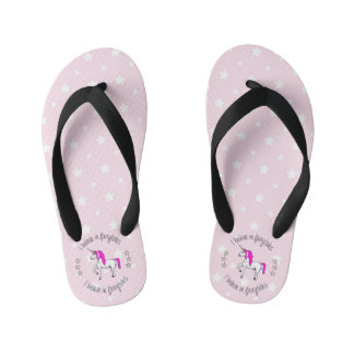 Believe in fairytales unicorn cartoon girls thongs