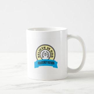 believe in God unicorn Coffee Mug