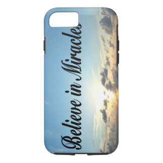 BELIEVE IN GOD'S MIRACLES iPhone 8/7 CASE
