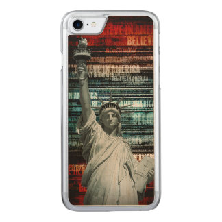 Believe In Liberty Carved iPhone 7 Case