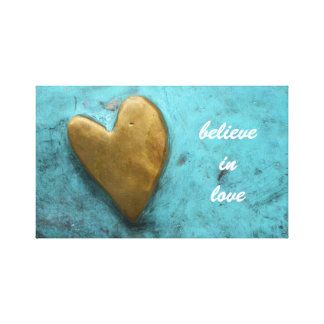 Believe In Love Canvas