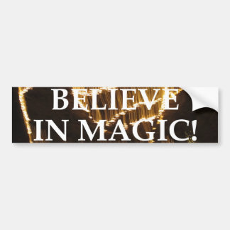Believe In Magic Bumper Sticker