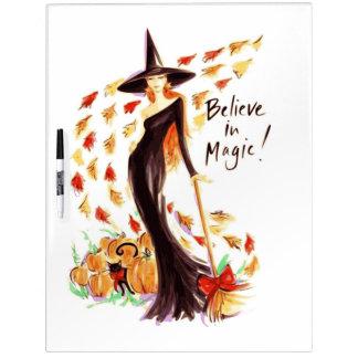 BELIEVE IN MAGIC DRY ERASE BOARD