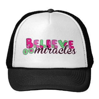 Believe in Miracles Cap