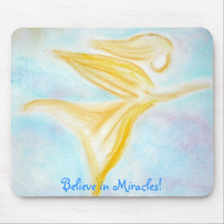 Believe in Miracles! mousepad
