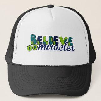 Believe in Miracles Trucker Hat